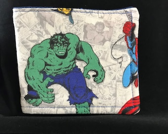 Child's Wallet - Hulk & Marvel Comics (Minor Flaw)