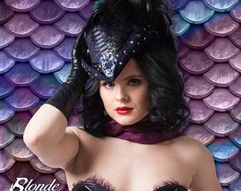 Dark Mermaid Riding Hat
