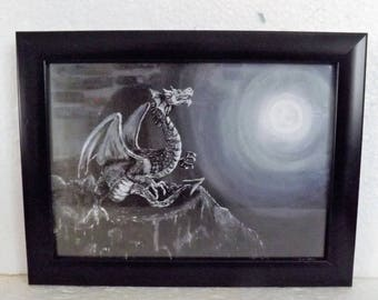 Acrylic Original Art framed print
