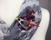 Colourful Upcycled Bird B...