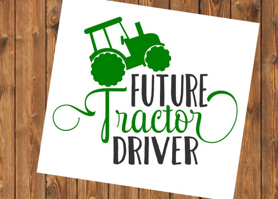 Free Shipping- Future Tractor Driver Yeti Decal Sticker, Yeti Cooler Farm Decal, Farming/Country Decal Sticker, Laptop Sticker,Farm Life