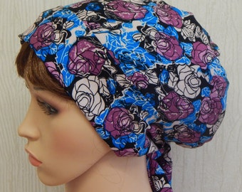 Cotton Head Scarf , Womens  Headscarf , Hair Scarf, Summer Head Wrap, Surgical Scrub Head Wraps