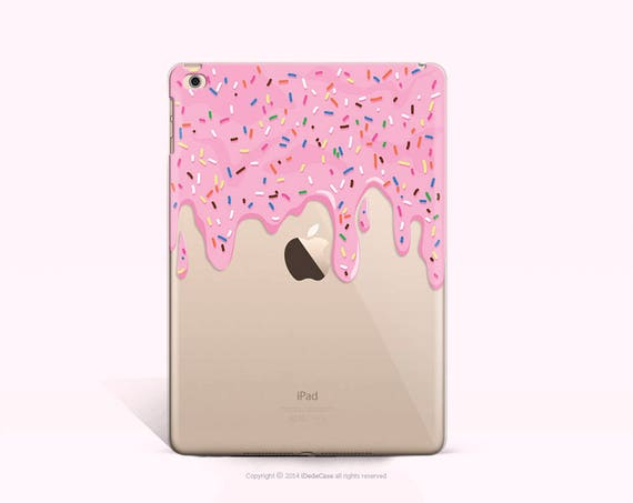 Donut iPad Air Case Clear iPad Air 2 Soft Case Floral iPad Mini 2 Cover Clear iPad Case Floral iPad Cover Clear Floral iPad Mini 4 Case