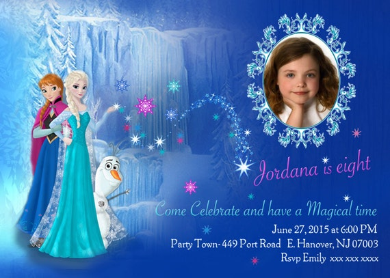 Diy print frozen invitations frozen birthday invites elsa stopboris Image collections