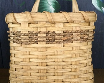 Handmade Basket, Mail Basket, Wall Basket, Flower Basket, Made in USA