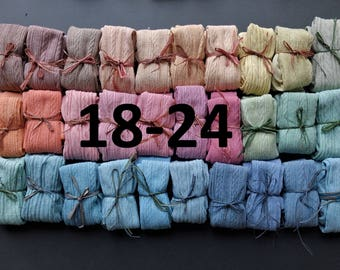 18-24 MONTHS HAND DYED baby tights in a range of beautuiful colours!