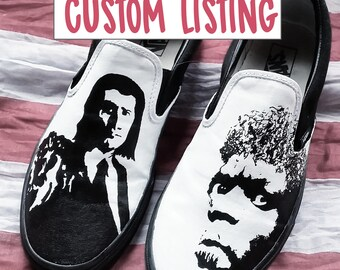 Custom Hand Painted Shoes Adult Sizing