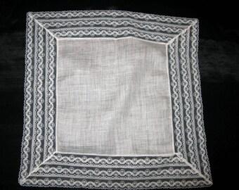 Handkerchief for Wedding White Lace Hankie