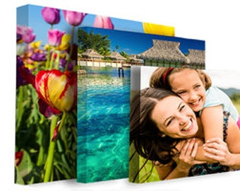 Custom Canvas Photo and Art Printing - Your personalized photos or artwork