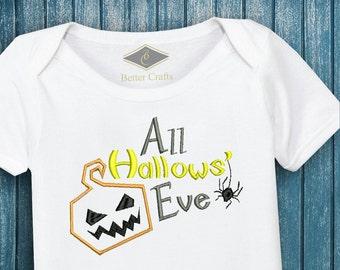 50% OFF All Hallows Eve | Fall Season | Machine Embroidery Applique Design 4 Sizes