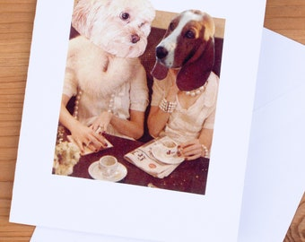 Card - Doggie Cafe