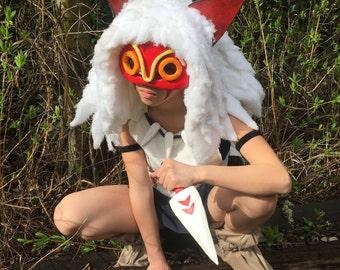 Princess Mononoke San costume もののけ姫 サン コスチューム コスプレ