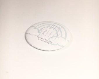 Eden Breezy Button Pin