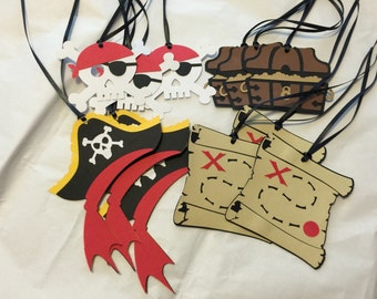 Pirate Party Tags