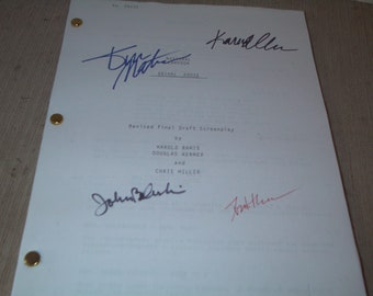 "Signed Copy of Draft Screen Play, ""Aninal House"""