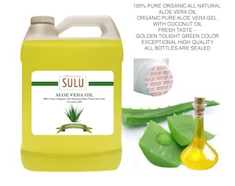 4 lbs 100% Pure and Organic All Natural Aloe Vera Oil