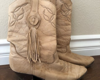 Vintage women's 80s western boots
