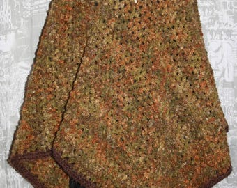 curly wool poncho size 42/48