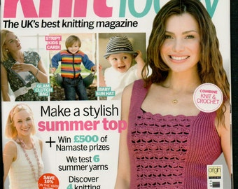 Knit Today Knitting Magazine Issue 61 July 2011