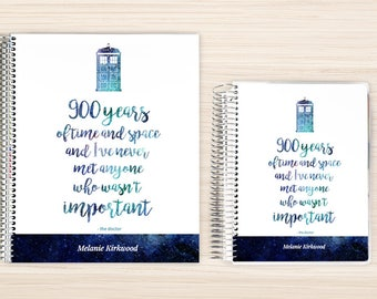 Planner | 2018 Planner | Weekly Planner | Hourly Planner | Custom Planner | Personal Planner | Life Planner | Planners | time and space