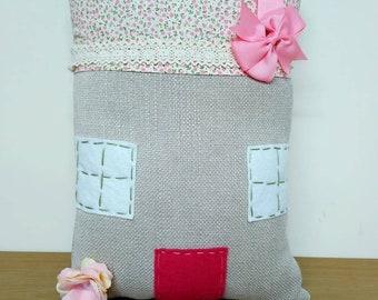 Cute house cushion