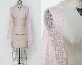Vintage Pale Pink Shawl