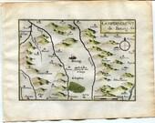 1634 Nicolas Tassin Map B...