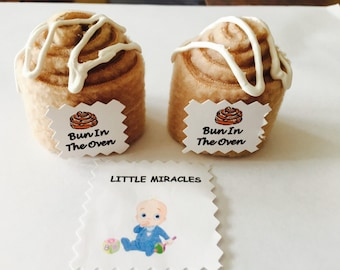 LM 20 Bun In The Oven Baby Shower Favor Game