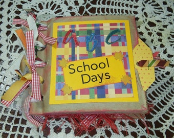 Handmade School Lunchbag Album