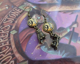 Harry Potter Inspired Cabochon Earrings