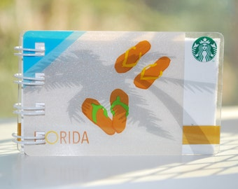 Flip Flop Starbucks Notebook