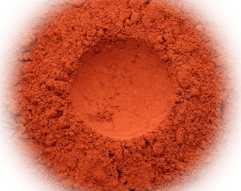 5g Mineral Eye Shadow - Burnt Orange - Deep Orange With Soft Finish