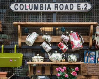 London Photography - Columbia Road Sign Print