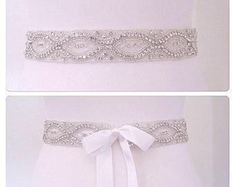 Crystal Bridal sash wedding dress belt wedding belt,ANA