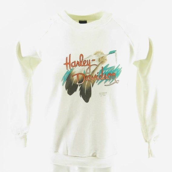 13 Shelf Davidson Medium Sweatshirt Deadstock Fitted Harley Emblem Nos 3D Wyoming H95T Vintage 0 CxqO7t