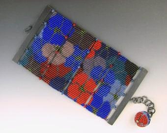 Beaded bracelet, loom beading, loom work bracelet, loom work beading, loom beaded bracelet, beadwork bracelet, beadwork cuff, beaded cuff
