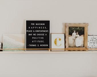 picture shelf, picture ledge shelf, picture ledges, floating shelf, book ledge, custom length picture ledge