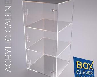600 x 300 x 300 acrylic display cabinet