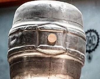 Beer Keg Ceiling Lighting