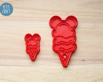 Mickey Mouse - Ice Cream Cones