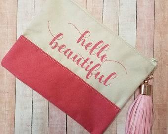 Makeup Bag ~ Hello