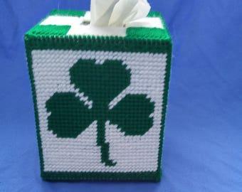 St. Patrick's Day Tissue Box Cover