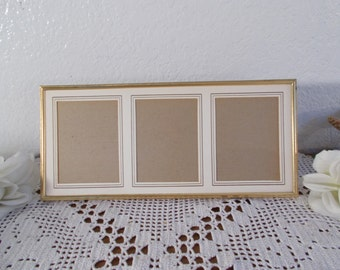 Vintage Gold Metal Picture Frame Photo Decoration French Paris Chic Hollywood Regency Midcentury Home Decor Shabby Chic Wedding Gift Him Her