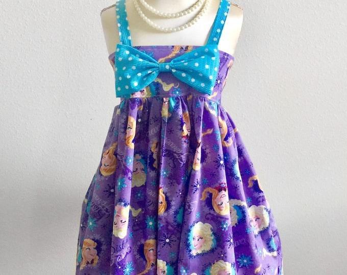 Elena of Avalor Bowknot Hattie Dress