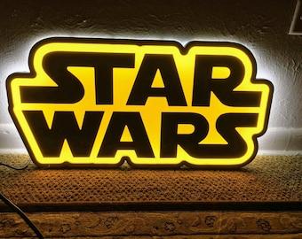 Star wars sign light