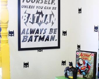 Printable Downloadable Batman superhero oversized wall art poster artwork