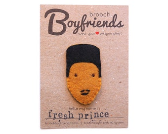 Fresh Prince Brooch