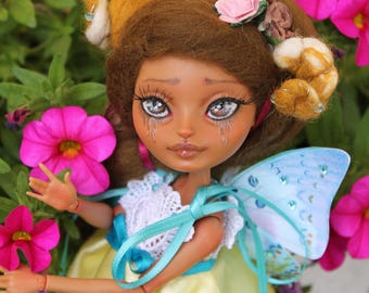 "OOAK Ever after high repaint doll ""Schmetterling"""