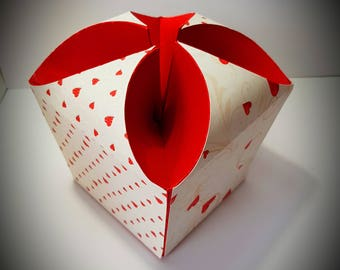 Domed floral effect Gift Box DIGITAL download