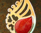 Henna Motif Pendant, Ster...